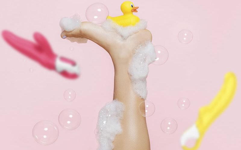 Limpieza juguetes eróticos